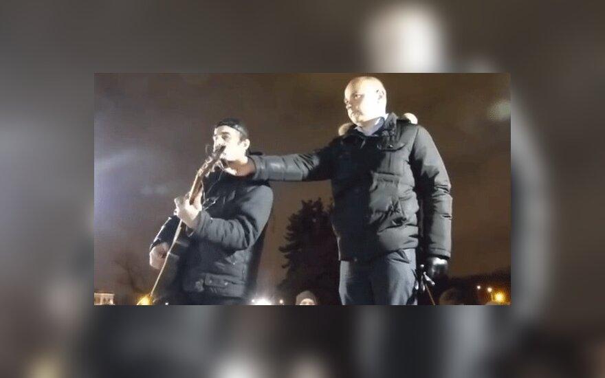 """В Петербурге отменили концерт автора песни """"Путин Hello"""""""