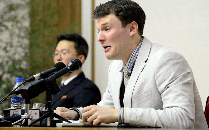 Суд в США потребовал от КНДР 500 млн долларов за смерть американского студента в северокорейской тюрьме