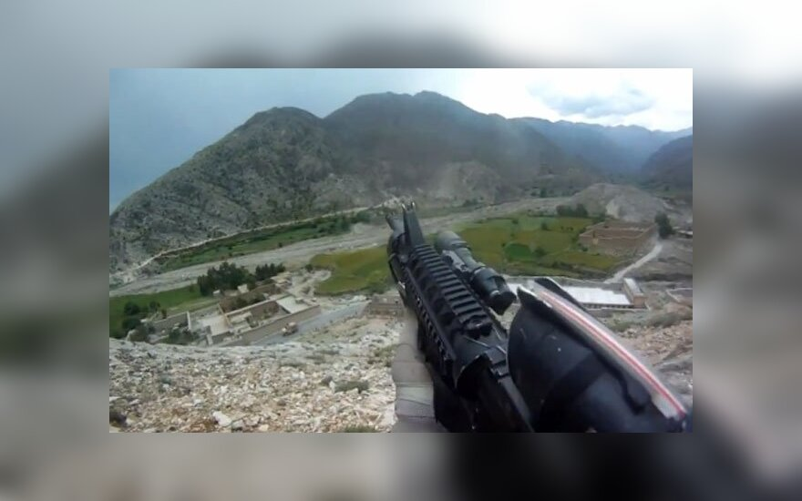 Видео из Афганистана прославило американского солдата