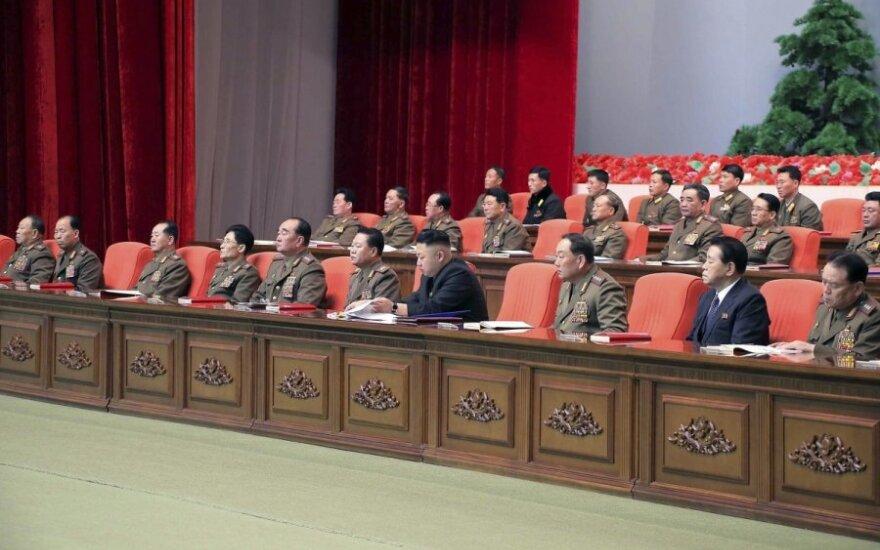 Ким Чен Ын выступил на пленуме партии, обозначив стратегическую линию