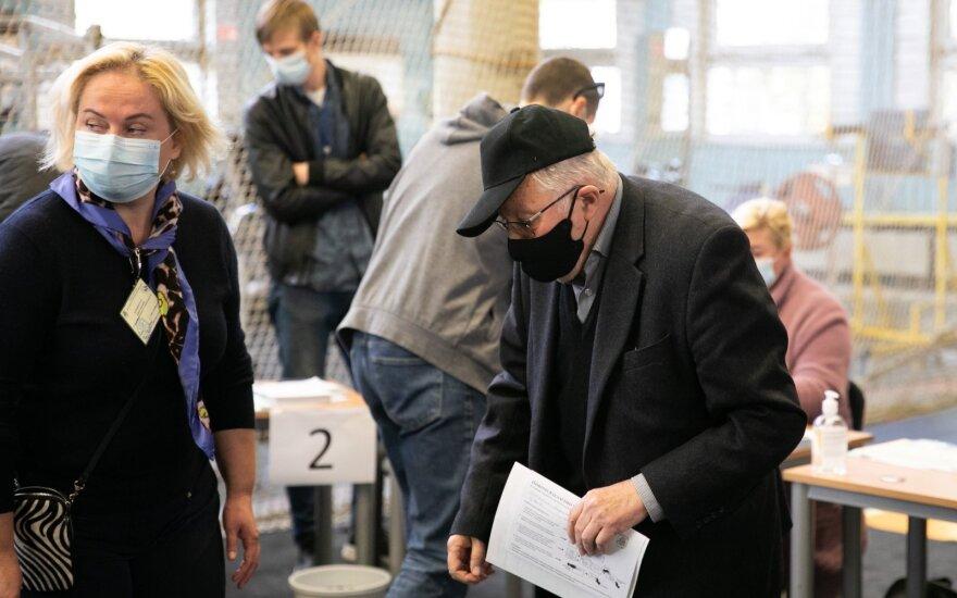 Во время голосования Витаутас Ландсбергис рейтинговал кандидатов