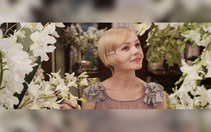 "Carey Mulligan filme ""Didysis Getsbis"""
