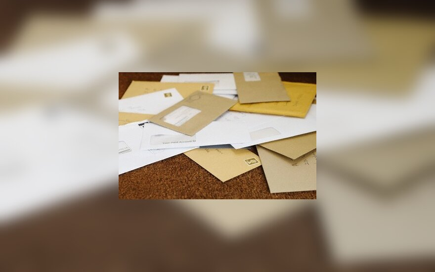 Laiškai, vokai