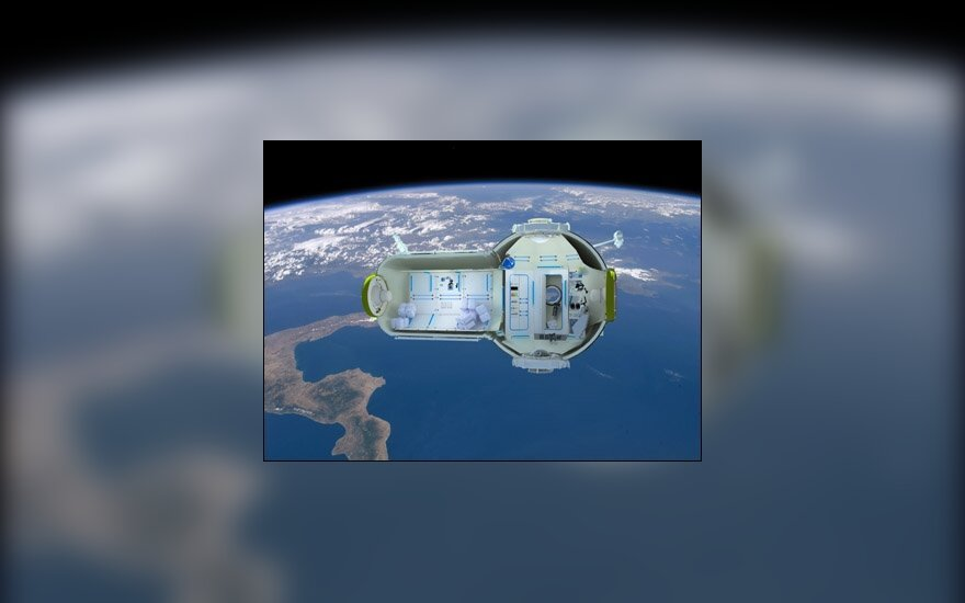 Так будет выглядеть космический отель. Фото Cnews.ru