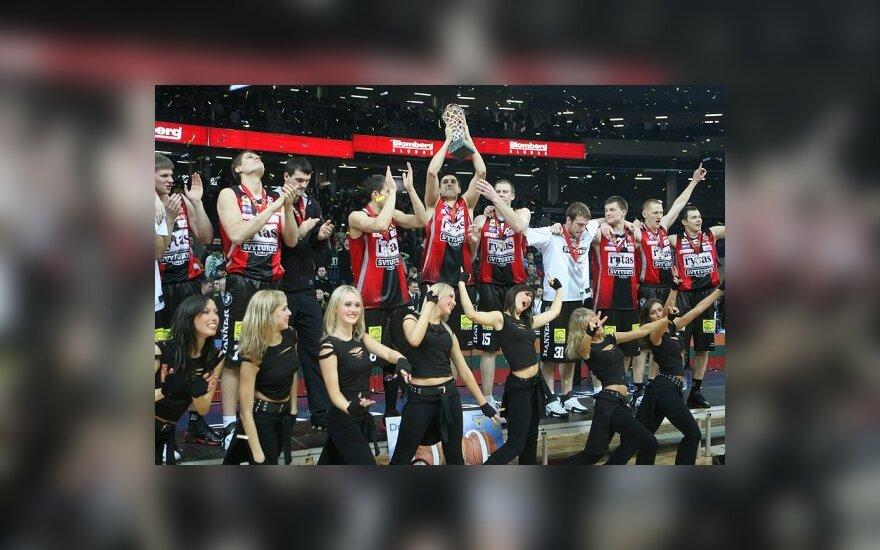 """Vilniaus """"Lietuvos rytas"""" - LKF taurės laimėtojas"""