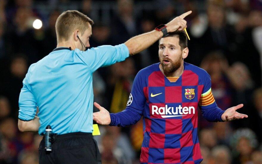 """Месси пошел на конфликт с руководством """"Барселоны"""", вступившись за одноклубников"""