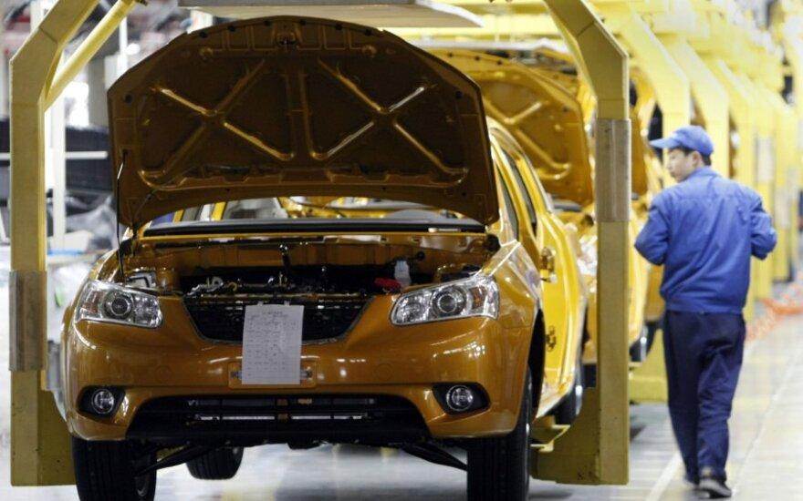 В Китае за месяц продано больше миллиона автомобилей