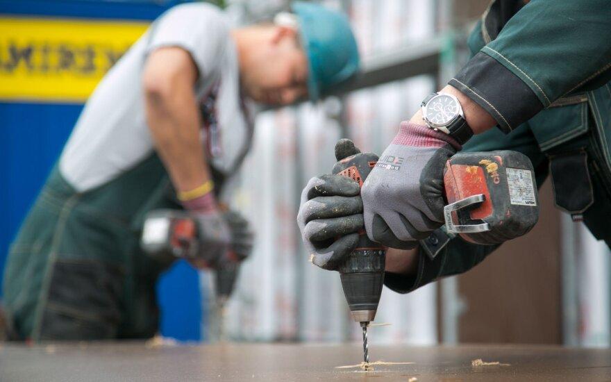 Строительная ассоциация: в Литве на стройках работают около 2500 украинцев