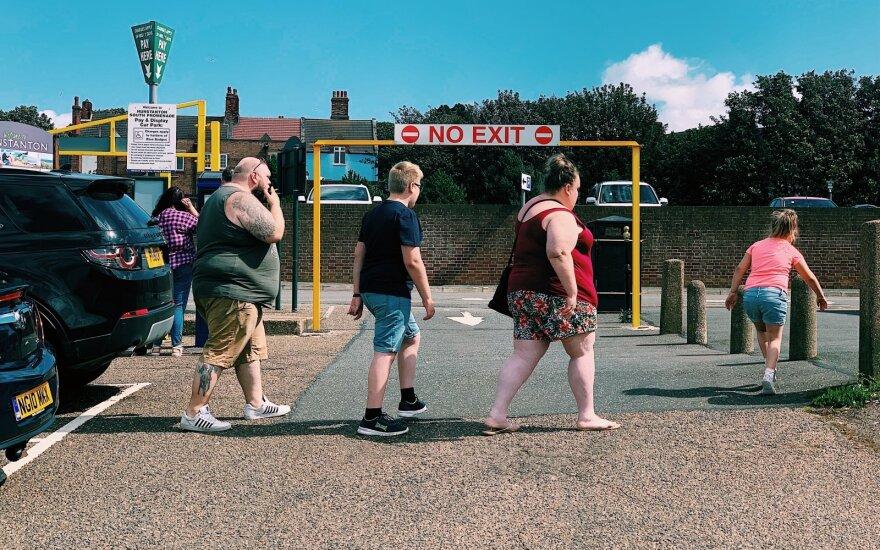 Города литовских эмигрантов в Англии славятся местным фастфудом