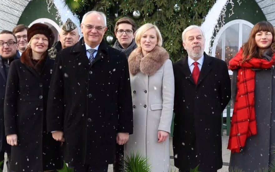 Życzenia świąteczne Ambasady RP w Wilnie