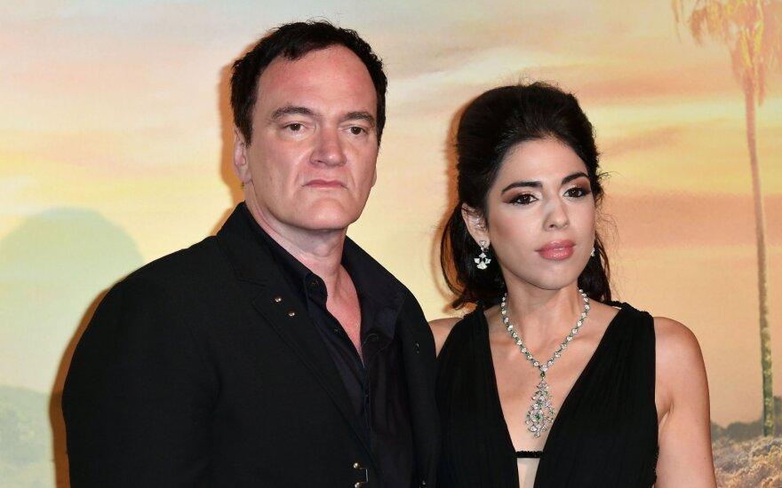 Quentin Tarantino su žmona Daniella Pick