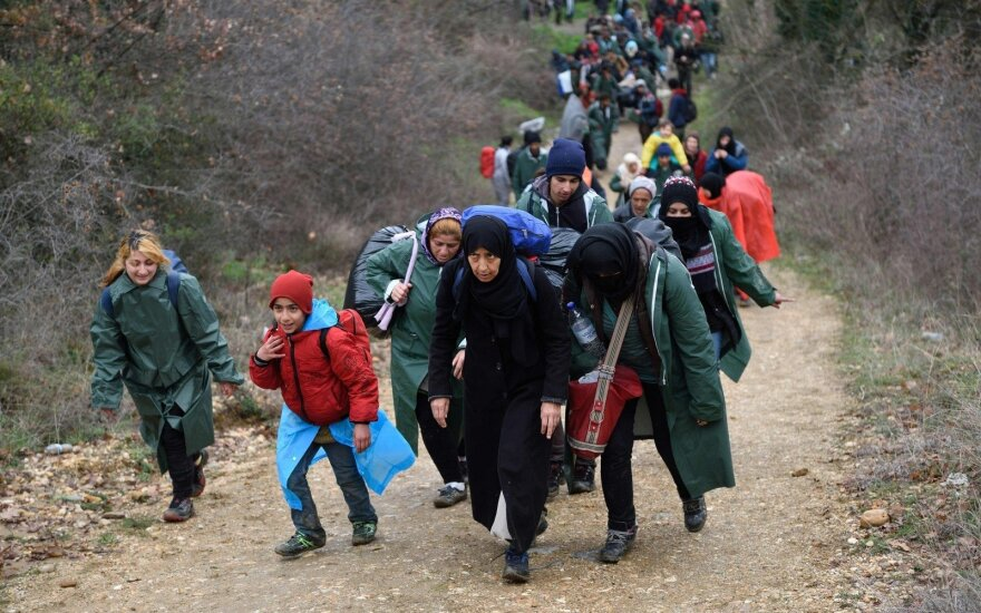 Финляндия поможет палатками беженцам в Греции