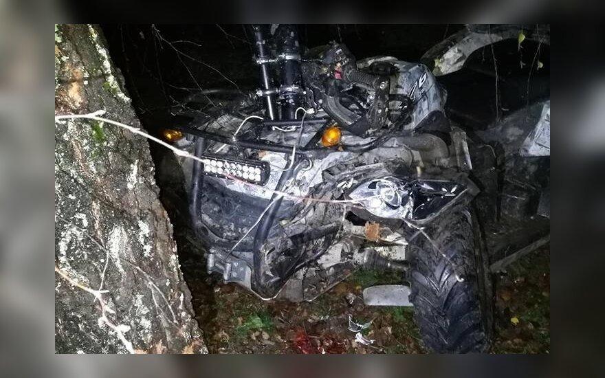 Пьяное катание на квадроцикле привело к смерти пассажира