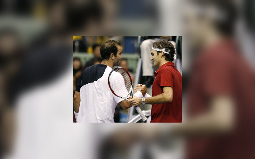 Pete'as Samprasas ir Roger Federeris