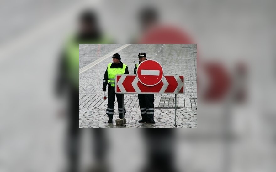"""Na trasie """"Via Baltica"""" wzmocniona kontrola policyjna"""