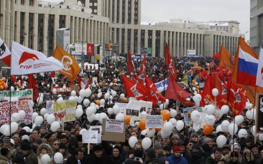 Mitingas Maskvoje