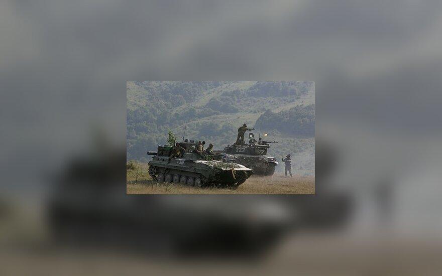 Gruzija, karas