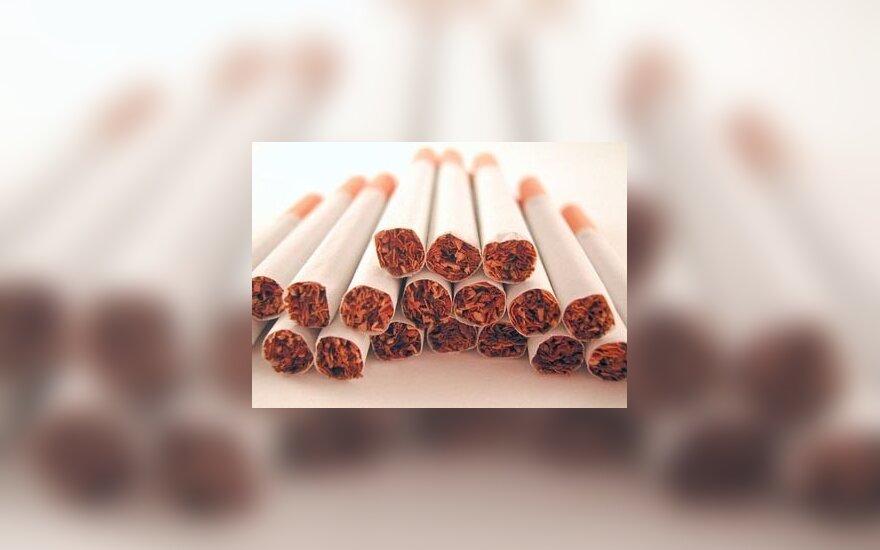 Пачка сигарет – на лит дороже