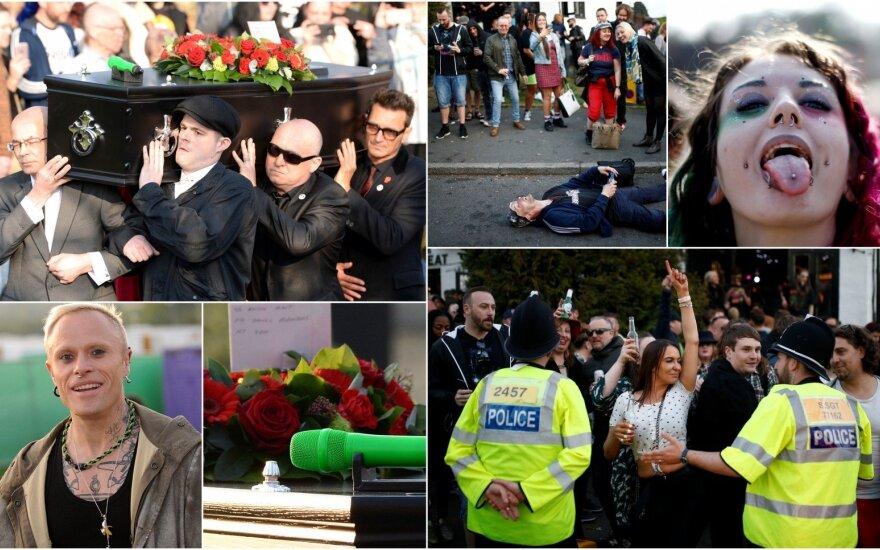 Keitho Flinto laidotuvės Esekse