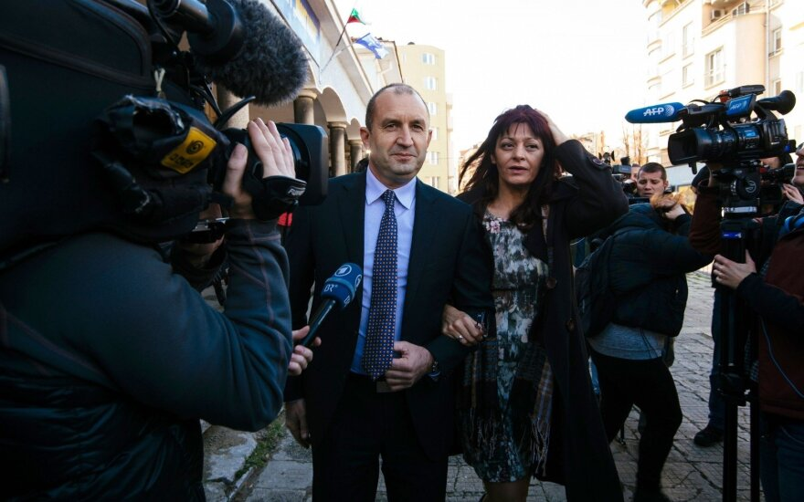 Rumen Radev Bulgaria's President - elect