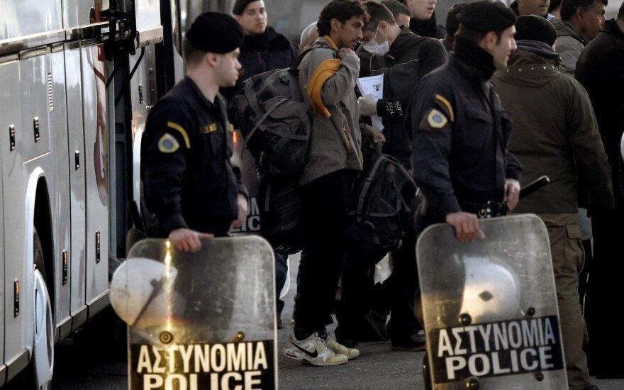 В Греции мигранты устроили беспорядки после гибели курдки и ее сына