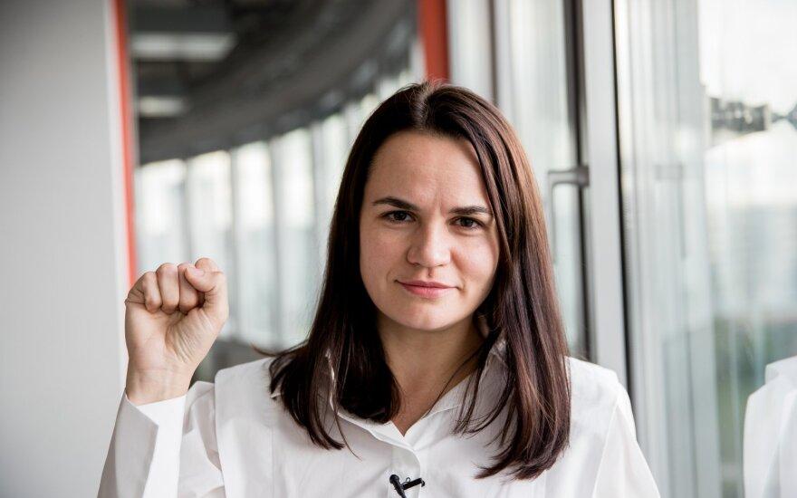 Тихановская опубликовала видео в поддержку белорусок с участием Клинтон и Грибаускайте