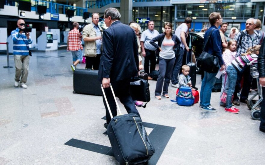 Вернувшийся в аэропорт Варейкис: я свободный человек, где хочу, там сижу