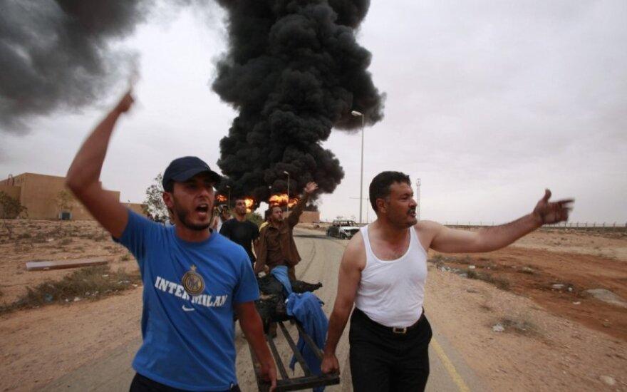 Per sprogimą Libijoje žuvo daugiau kaip 100 žmonių