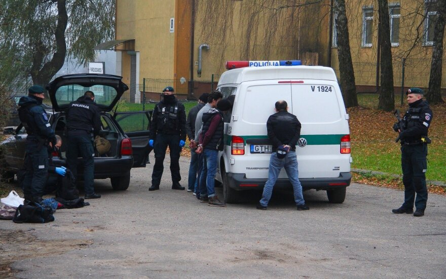 В столице около цыганского табора задержаны граждане Грузии