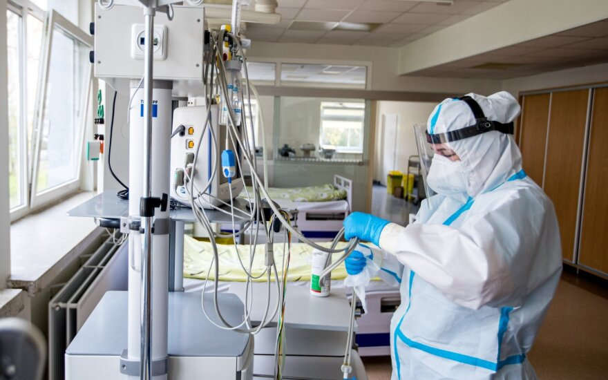 За сутки в Литве подтверждено 5 новых случаев коронавируса