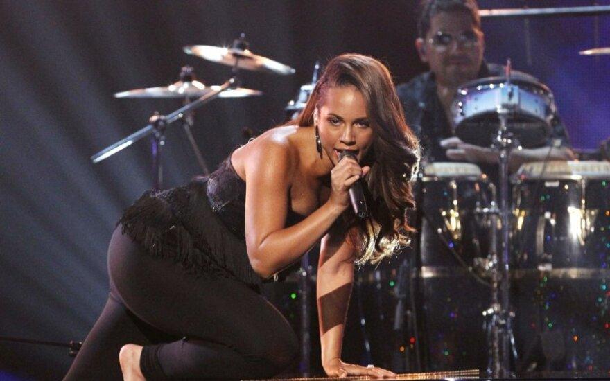 Alicia Keys trzy razy ognistą dziewczyną