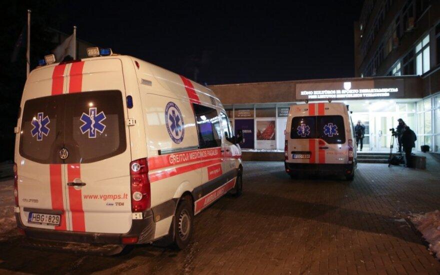 В Вильнюсе в тире Ekskomisarių biuras застрелился молодой человек