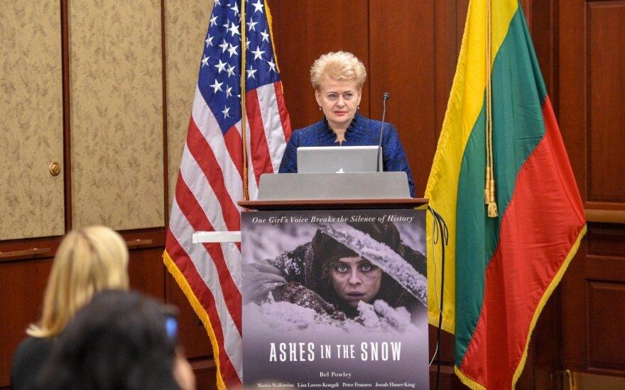 Президент Литвы призывает США активно подключаться к военным учениям в Литве
