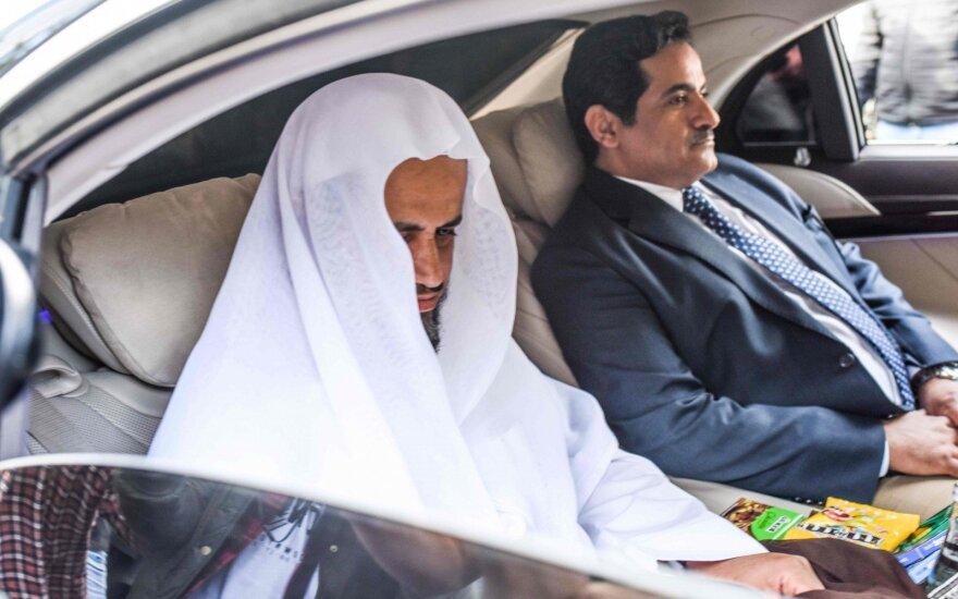 Saudo Arabijos prokuroras atvyko į konsulatą, kur buvo nužudytas Khashoggi