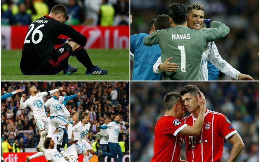 """""""Bayern"""" ir """"Real"""""""