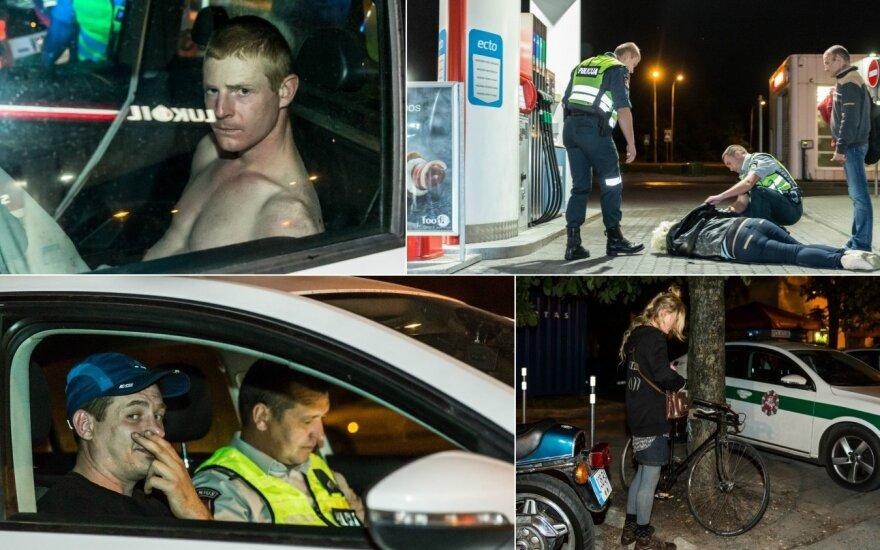 Канун 1 сентября в столице: драка с полицейскими, пьяные водители