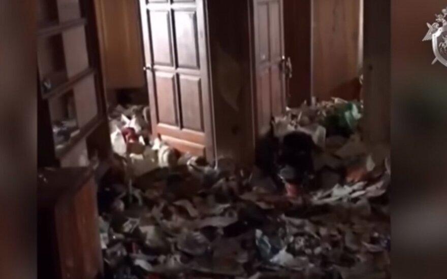 В московской квартире обнаружили пятилетнюю девочку-маугли