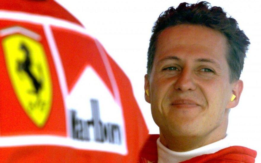 Michael Schumacher wybudził się ze śpiączki