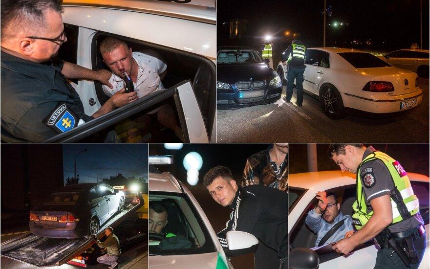 Ночь в Вильнюсе: преследование водителя и пьяные слезы