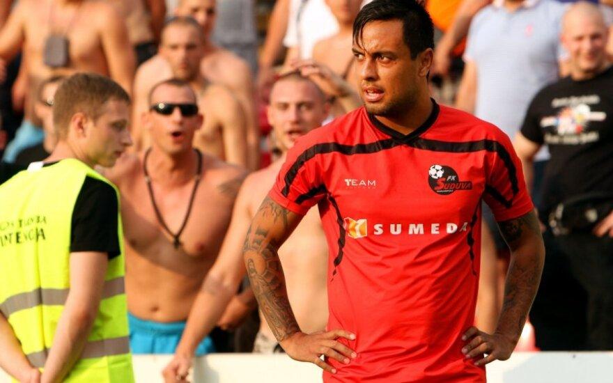 """UEFA lygos antrojo kvalfikacinio etapo rungtynės FK """"Sūduva"""" - FC """"Vojvodina"""""""