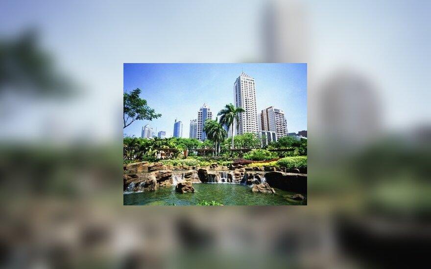Manila. Filipinai