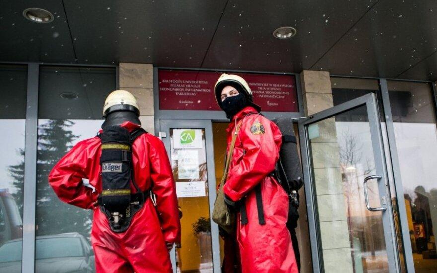 Ewakuacja budynku, w którym znajduje się UwB