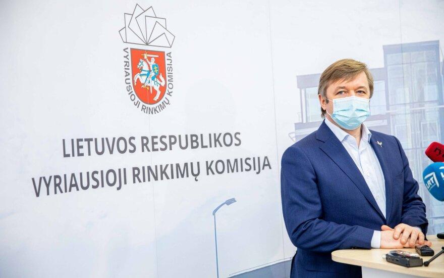 Главизбирком упразднил парламентский мандат Карбаускиса