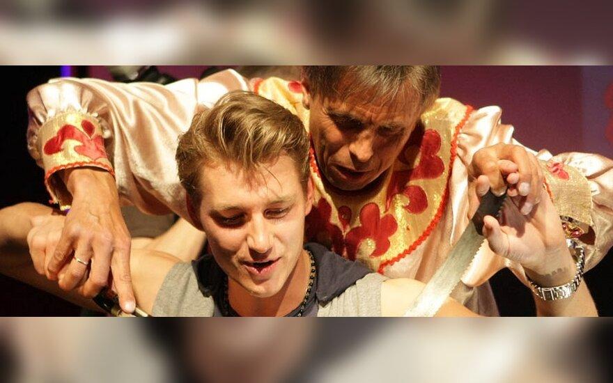 """Rusijos atstovo """"Eurovizijoje"""" Aleksejaus Vorobjovo vakarėlis"""