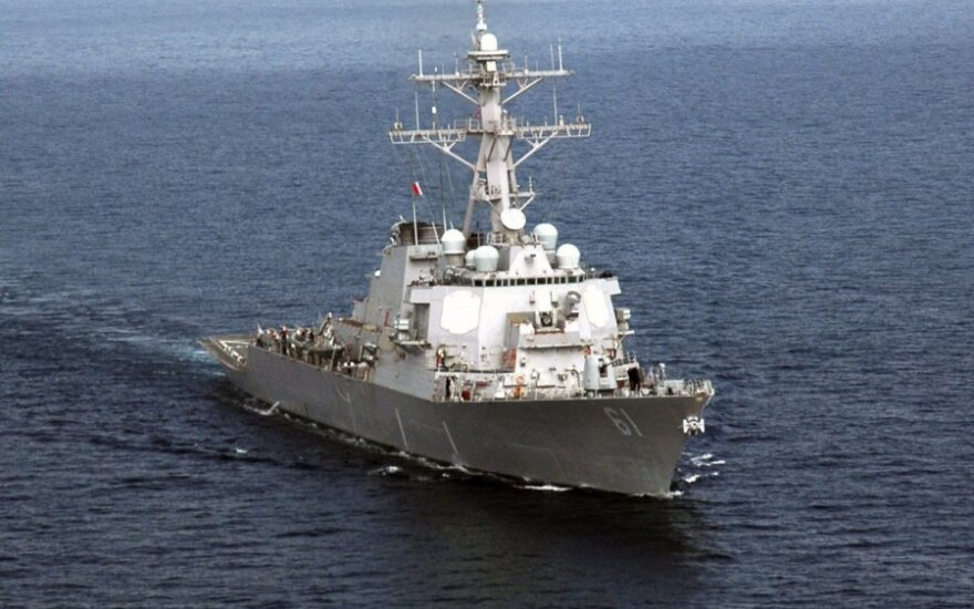 Корабли ВМС США и Британии идут к Филиппинам