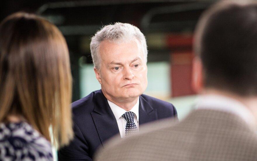 Глава штаба Шимоните обратился с открытыми вопросами к Науседе