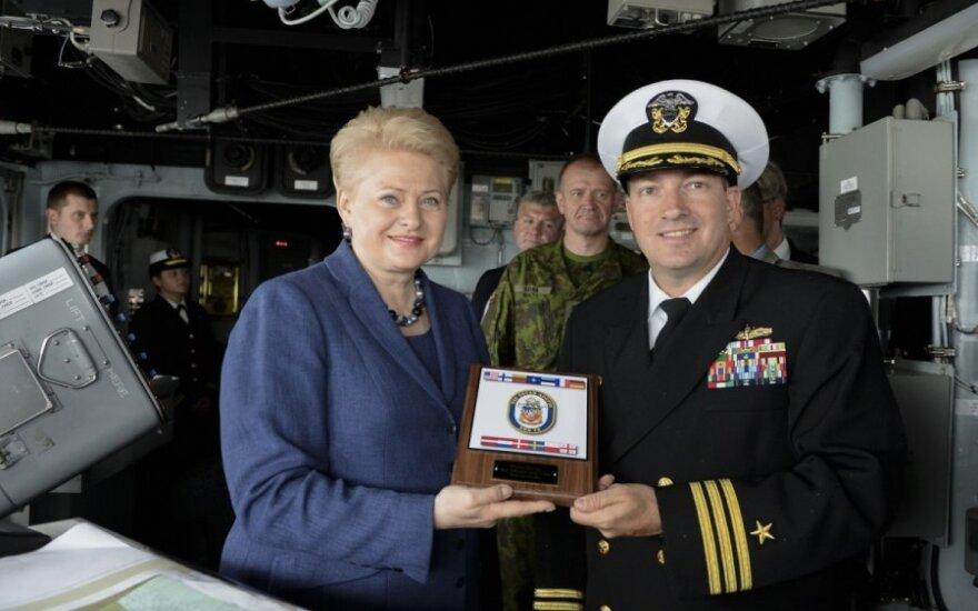 Президент: США выполняют обещания по обороне Балтийских стран