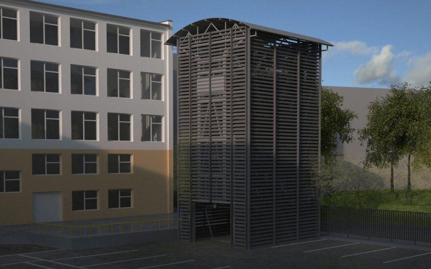 На проспекте Гедиминаса планируют построить карусельный паркинг