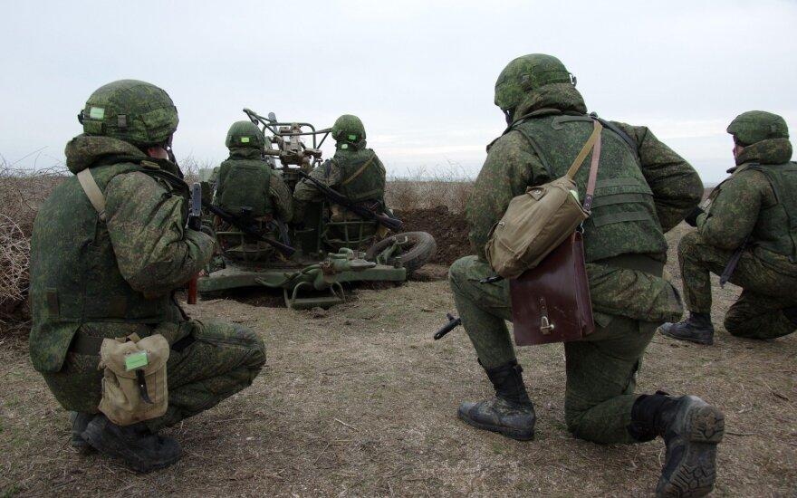 Паулаускас: россияне будут усиливать военное присутствие в регионе