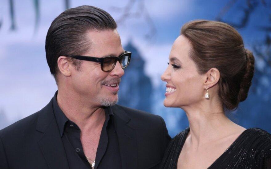 Bradas Pittas, Angelina Jolie